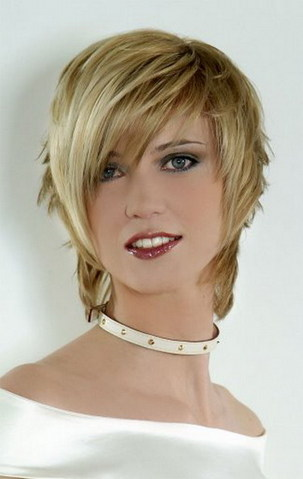 short hairstyles trends presents short modern asymmetrical haircuts ...