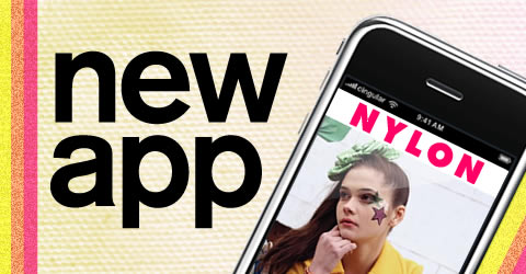 Android Fashion Apps, NYLON Fashion App 2011