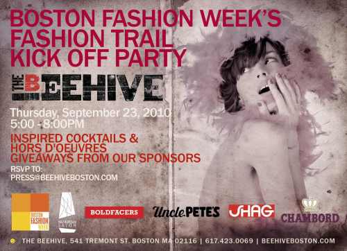 Boston Fashion Week Sponsors 2010