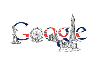 Google Logo UK, Great Brittain
