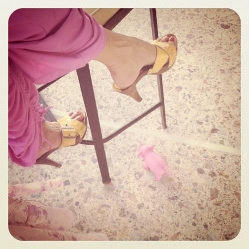 Pink Fashion Pig