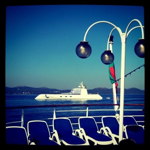 Fashionable Mega Yacht Cruise