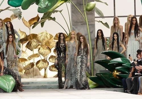 Roberto Cavalli: Milan Fashion Week Womenswear Spring/Summer 2011