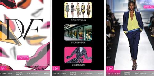 DVF - Diane Von Furstenberg mobile fashion app