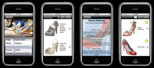 iShoes Mobile Fashion App