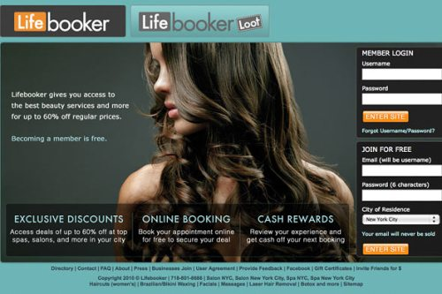 Lifebooker Mobile Fashion and Beauty App