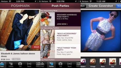 Poshmark Mobile Fashion App