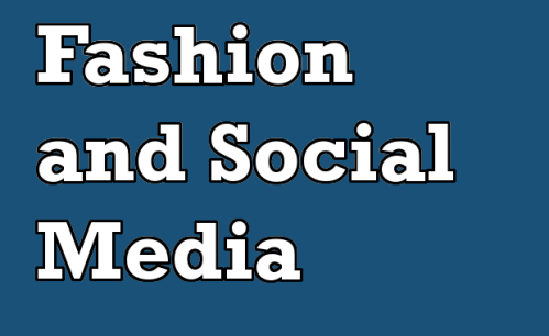 fashion and social media