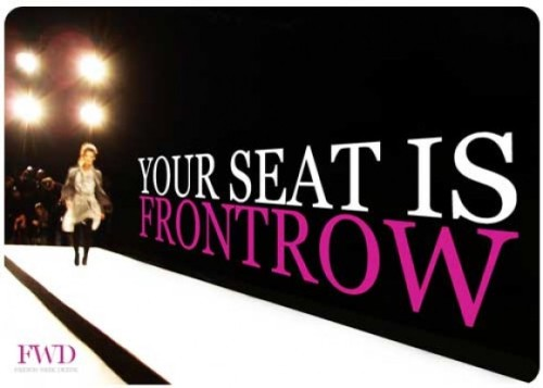 Frontrow DFW Digital Fashion Week Singapore 2012